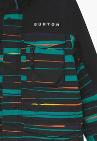 Burton - COVERT SCRIBBLE - Snowboardová bunda - true black - 3