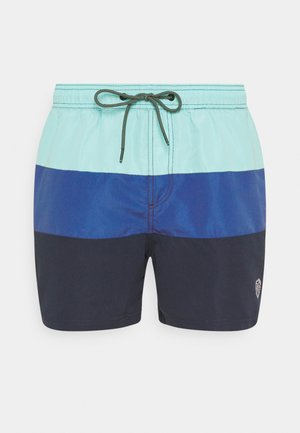 JJIBALI JJSWIMSHORTS COLORBLOCK - Szorty kąpielowe - navy blazer