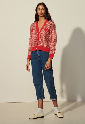 BRANDY - Cardigan - rouge