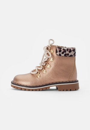 BOOTIES - Veterboots - rose gold-coloured
