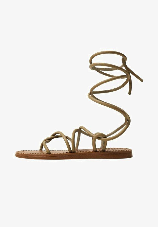 Sandales - olivengrün