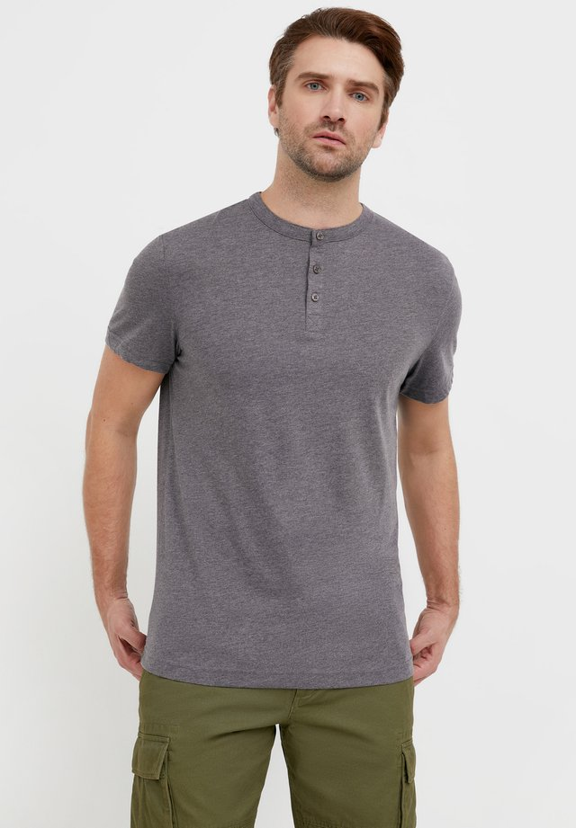 T-shirt basique - dark grey melange