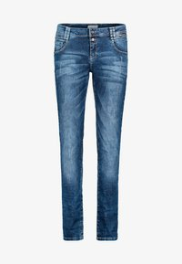 Cartoon - MIT REISSVERSCHLUSS - Straight leg jeans - blue - 0