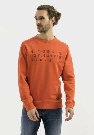 Sweatshirt - orange