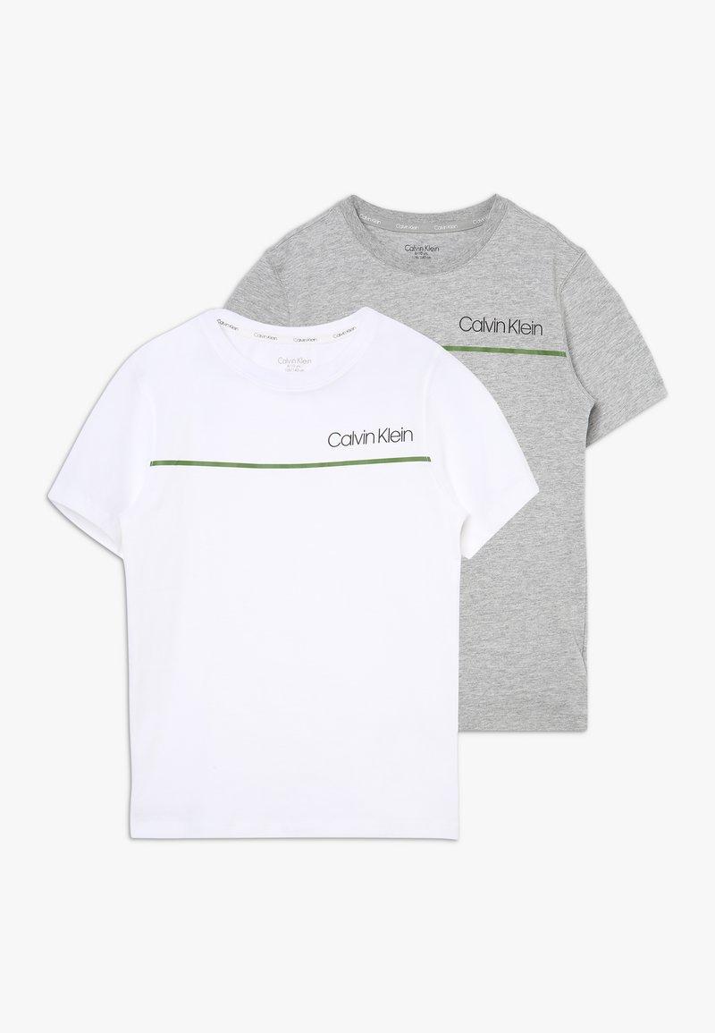 Calvin Klein Underwear - TEES 2 PACK - Undershirt - grey