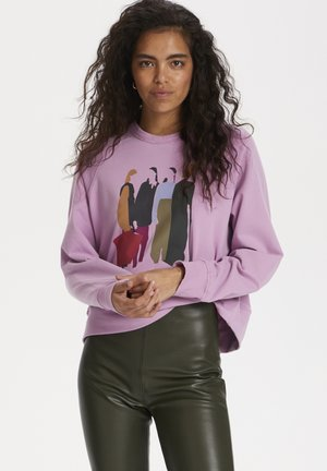 SLOLGA - Sweatshirt - smoky grape