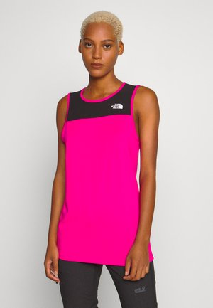 WOMENS ACTIVE TRAIL TANK - Funkční triko - mr. pink