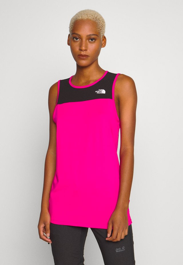 WOMENS ACTIVE TRAIL TANK - Sports shirt - mr. pink
