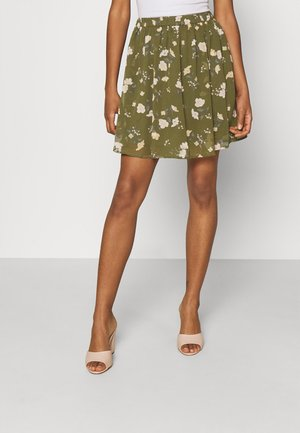 VMZALLIE SHORT SKIRT - Minisukně - ivy green/zallie
