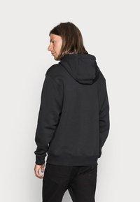 Nike Sportswear - CLUB HOODIE - Hoodie - black/white - 2
