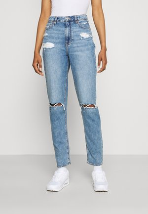MOM  - Jeans slim fit - empire blue
