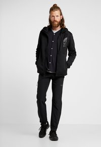 The North Face - MERAK HOODY - Fleecetakki - black - 1