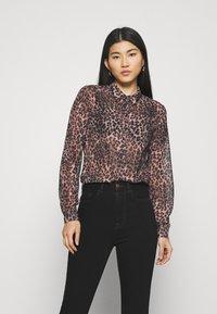 Guess - CLOUIS  - Button-down blouse - brown - 0