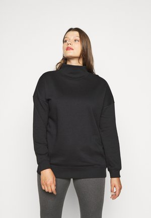 HIGH NECK  - Sweatshirt - black