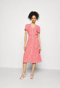 GAP - MIDI DRESS - Day dress - coral - 0