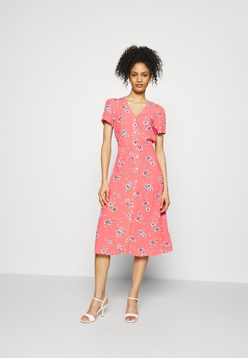 GAP - MIDI DRESS - Day dress - coral