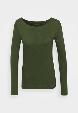 LONG SLEEVE NECK - Long sleeved top - lush pine