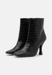 Kurt Geiger London - ROCCO BOOT - High heeled ankle boots - black - 2