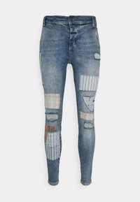 SIKSILK - LOW RISE FUSION - Jeans Skinny Fit - midstone - 3