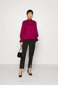 Fabienne Chapot - Long sleeved top - purple sky - 1
