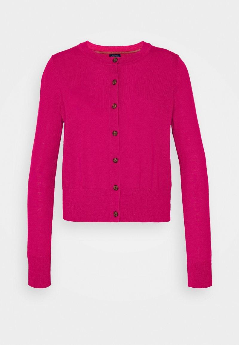 GAP Petite - Cardigan - bright peony pink