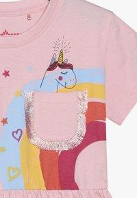 Lemon Beret - SMALL GIRLS DRESS - Sukienka z dżerseju - orchid pink - 3