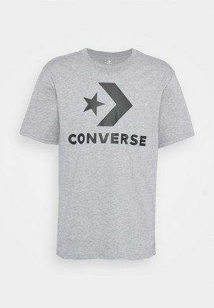 STAR CHEVRON TEE - Print T-shirt - grey