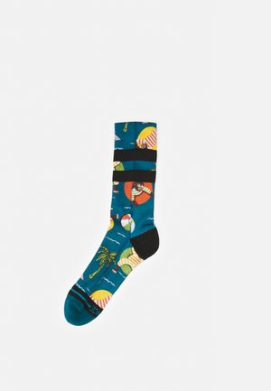 MONKEY CHILLIN - Socks - teal