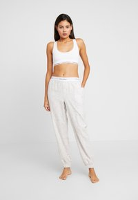 Calvin Klein Underwear - Pyjamasbukse - snow heather - 1