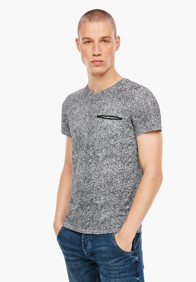 Basic T-shirt - white aop
