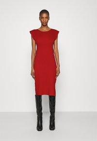 Anna Field - Pouzdrové šaty - red - 0