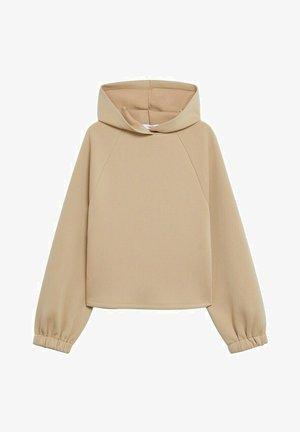 TAMMY - Hoodie - open beige