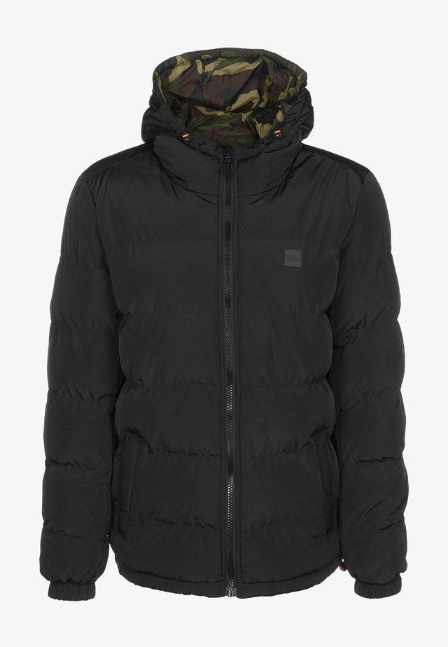 Veste d'hiver - black/woodcamo