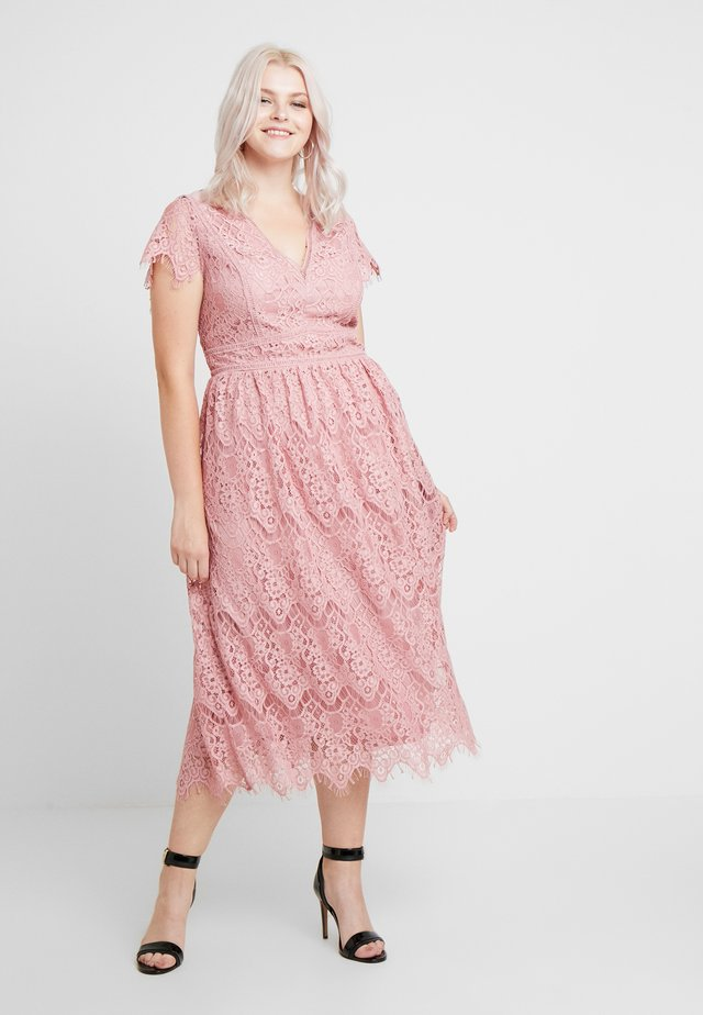 ANORA MIDI - Cocktail dress / Party dress - vintage rose