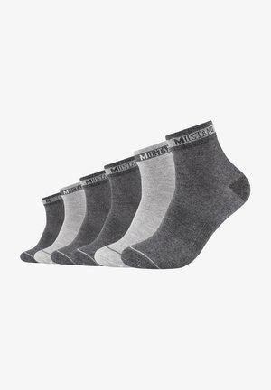 6 PACK - Socks - dark grey mix