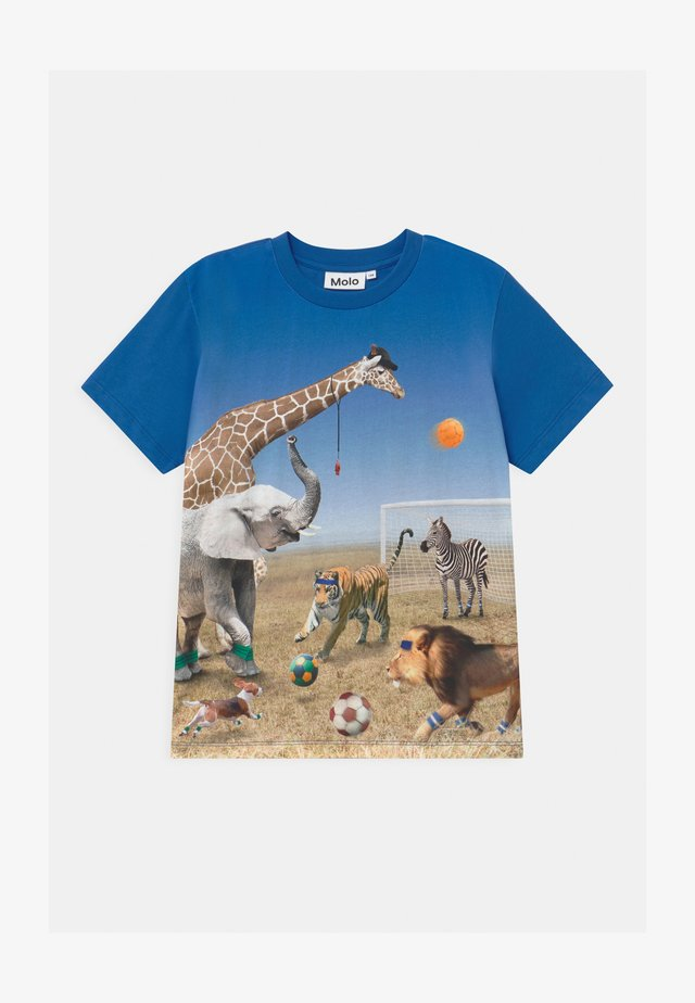 ROXO - Print T-shirt - blue