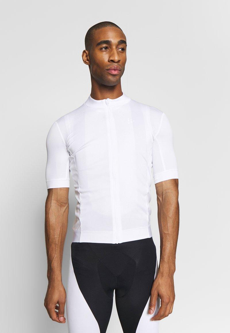 Craft - ESSENCE - T-shirt z nadrukiem - white