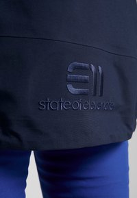 State of Elevenate - BACKSIDE JACKET - Chaqueta de esquí - dark navy