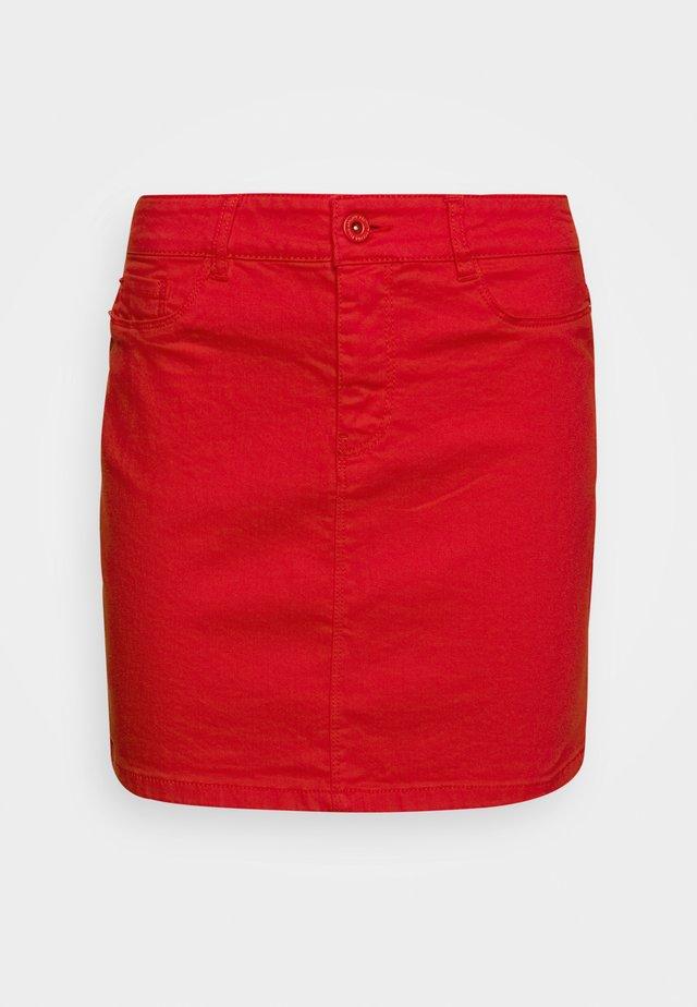 VMHOTSEVEN SKIRT COLOR - Minifalda - goji berry