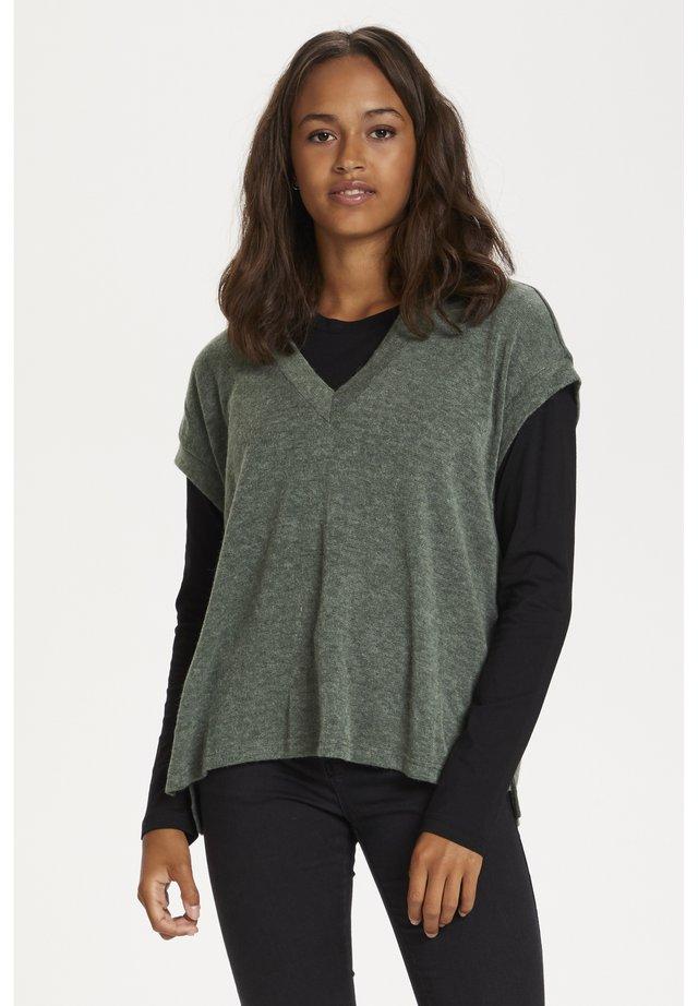 KARELANI - T-shirt imprimé - grape leaf