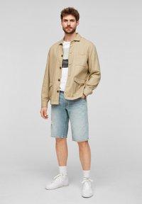 s.Oliver - Summer jacket - beige - 1