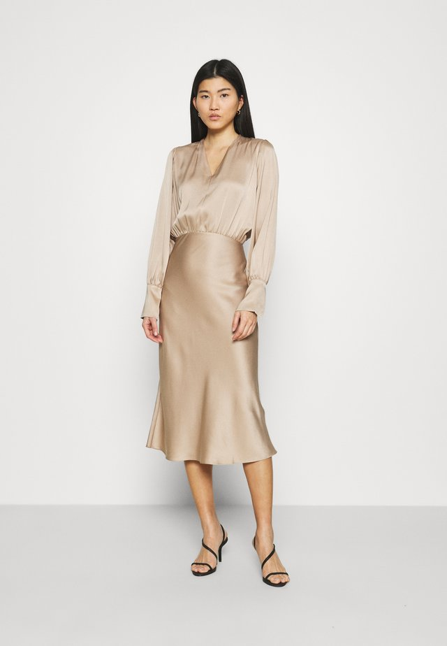 KAMO DRESS - Cocktail dress / Party dress - mild beige