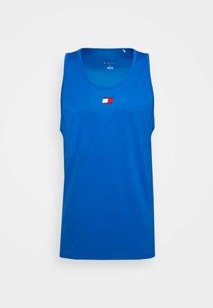 TRAINING TANK LOGO - Sports shirt - blue