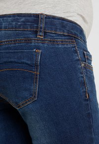 MAMALICIOUS - Slim fit jeans - blue denim - 3