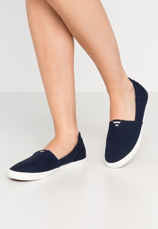 Slipper - navy
