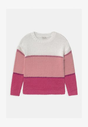 STRIPED  - Jumper - blush