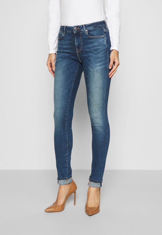 Jeggings - stone blue denim
