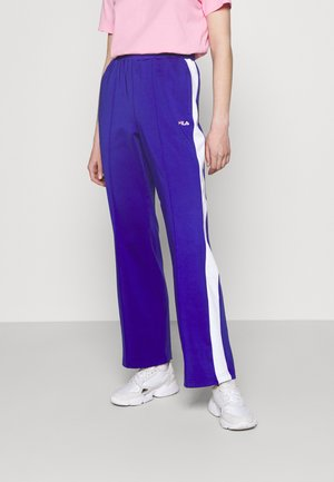 ALKAS TRACK PANT - Kalhoty - clematis blue/bright white