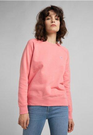 PLAIN CREW NECK - Sweatshirt - cherry blossom