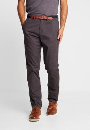 SLHSLIM YARD PANTS - Chino - phantom